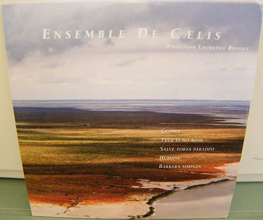recto du CD sampler Collector promotionnel de l'Ensemble de Caelis - Direction Laurence Brisset