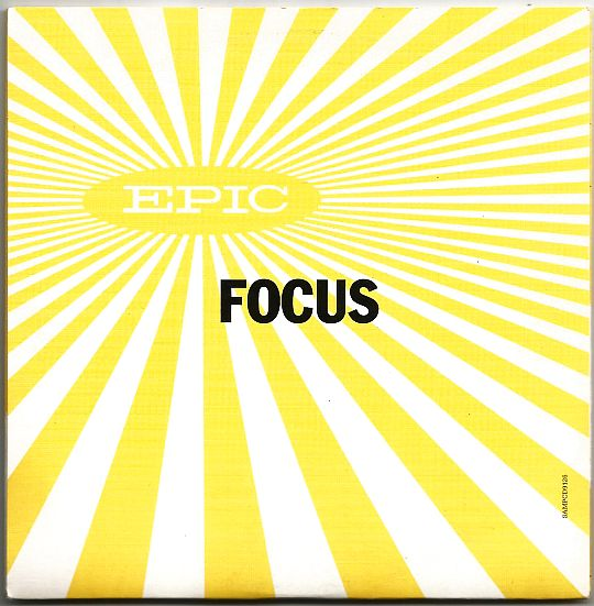 pochette recto du sampler Focus par Epic