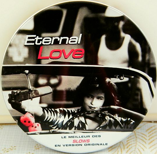 recto de la compilation CD Collector Eternal love hors commerce