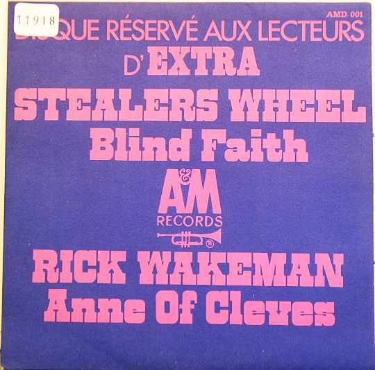 double face Stealers Wheel/Rick Wakeman Collector