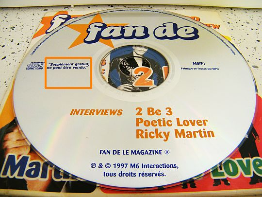 CD collector Fan De