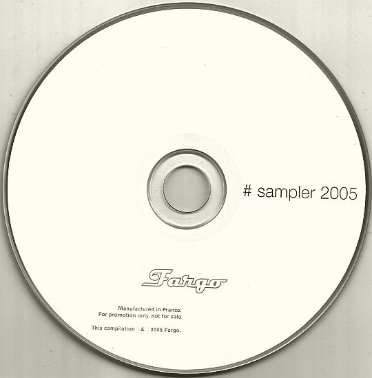 CD interdit à la vente Fargo - Sampler 2005