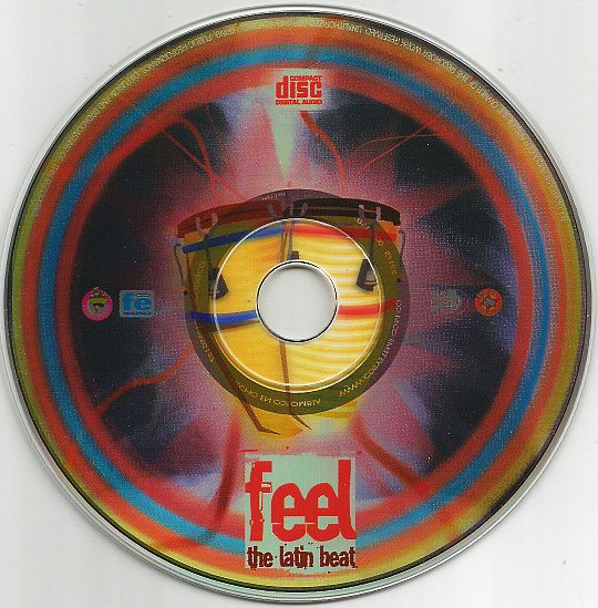 CD promo Feel the latin beat