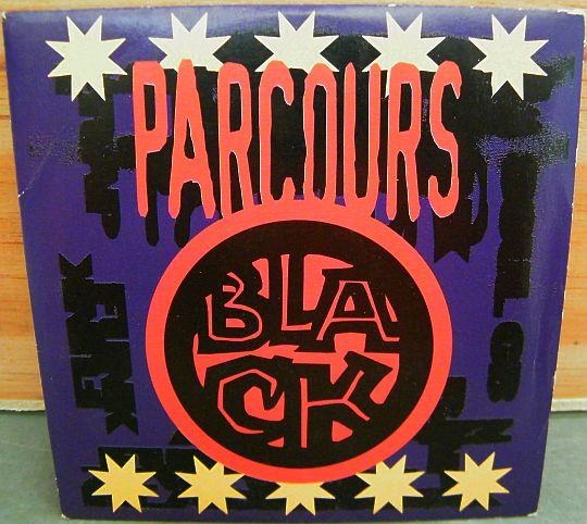 recto du CD sampler Collector Parcours black de la Fnac