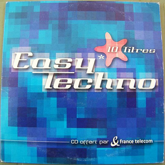 pochette recto du sampler Collector hors commerce France Télécom - Easy techno
