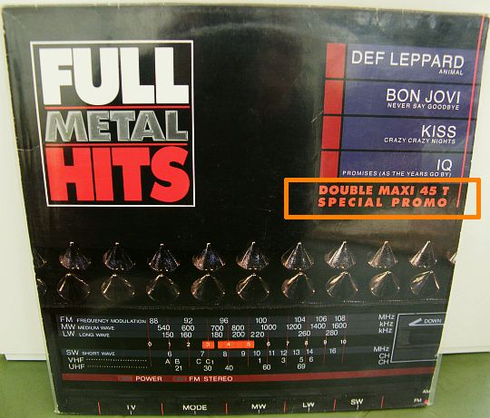 Full Metal Hits, double maxi 45t collector spécial promo