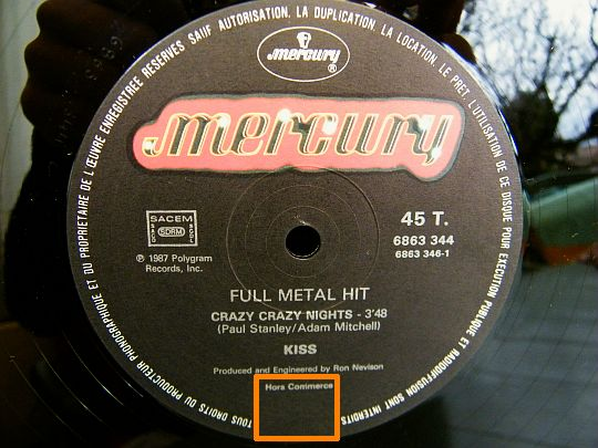 Kiss - Crazy crazy nights, full metal hits