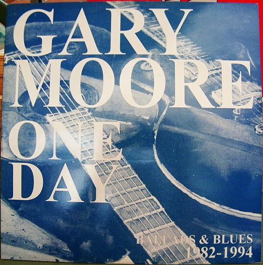 recto du maxi 45 tours promo One day par Gary Moore