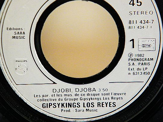 paroles et musiques Gipsy Kings/Los Reyes