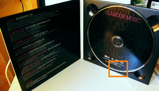 CD-Extra Glamour Music