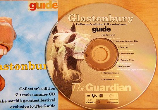compilation CD Collector Glastonbury - The Guide/The Guardian