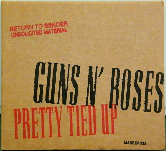 pochette recto Collector des Guns N'Roses - Pretty tied up