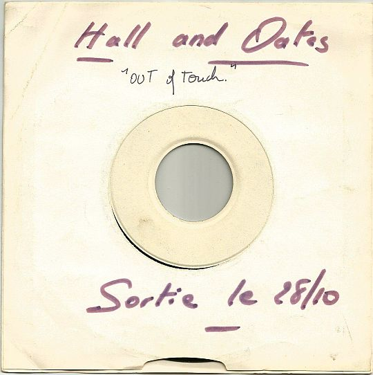 face 2 du 45t White Label de Daryl Hall and Johne Oates - Delayed reaction dans Poesie-Sonore.com
