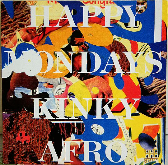 recto du 45 tours promo Collector des Happy Mondays - Kinky afro
