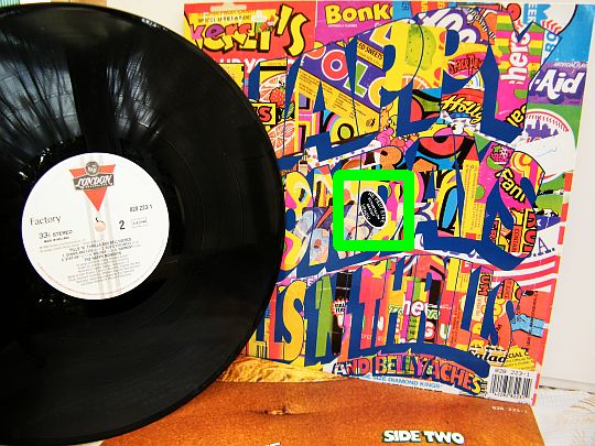 album et jaquette du LP promo des HAPPY MONDAYS - Pills n thrills and bellyaches