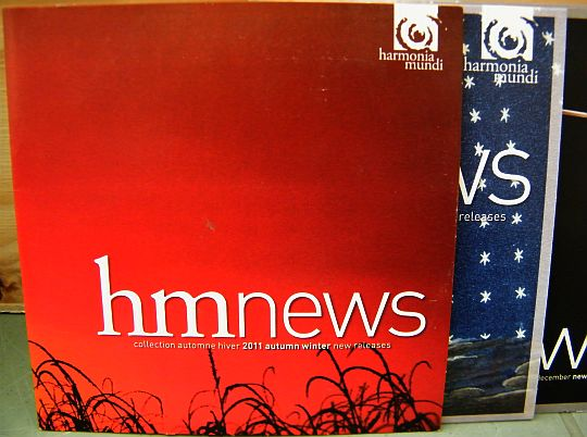recto du CD sampler Collector promo HM News automne hiver 2011