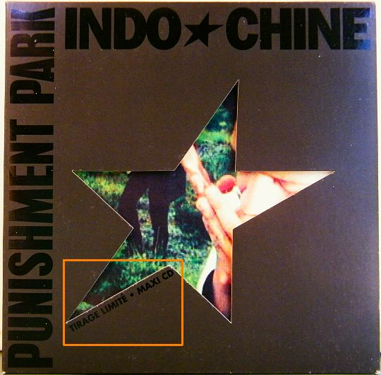 Collector CD d'Indochine - Punishment park
