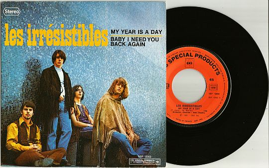 recto et 45t des Irrésistibles - My year is a day