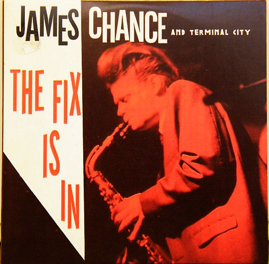 sampler collector promo de James Chance avec Terminal City - The fix is in