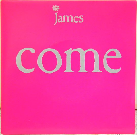 recto du 45 tours promo Collector de JAMES - Come home (Flood mix)