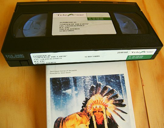 VHS monotitre promo Corner of the earth de Jamiroquai