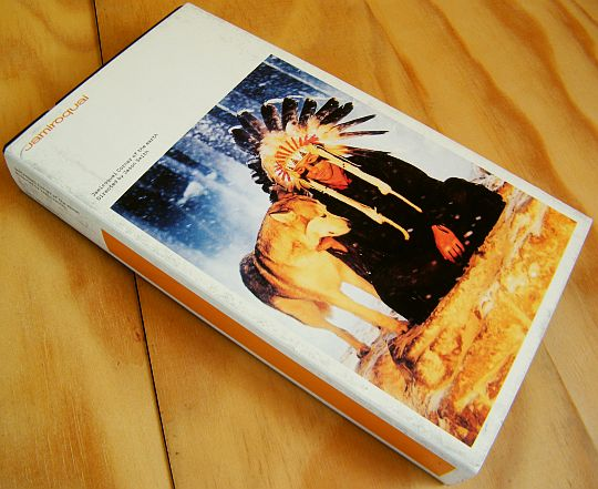 recto de la VHS promo monotitre de Jamiroquai - Corner of the earth
