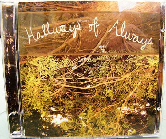 recto du CD sampler collector promo de Jennifer Hoyston et William Whitmore - Hallways of always
