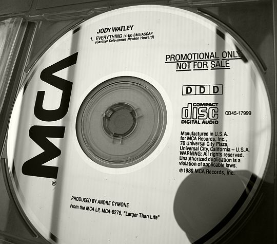CD collector monotitre de Jody Watley - Everything