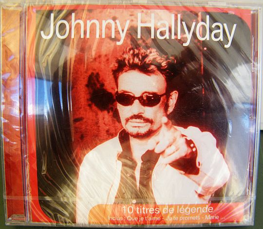 compilation Collector de Johnny Hallyday - 10 titres de légende