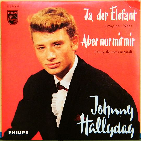 CD Collector réédition Philips de Johnny - Ja der Elefant