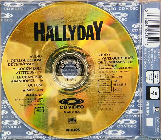 Johnny Hallyday en CD-Vidéo Collector