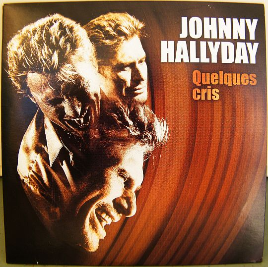 recto du CD promo Collector monotitre de Johnny Hallyday - Quelques cris