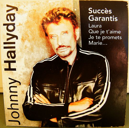 compilation Collector de Johnny Hallyday - succès garantis