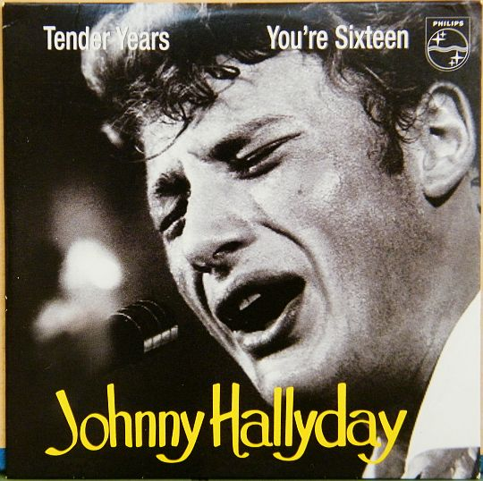 CD Collector réédition Philips de Johnny - Tender years