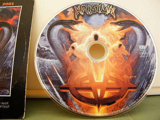CD sampler promo Collector Ageless venomous par KRISIUN