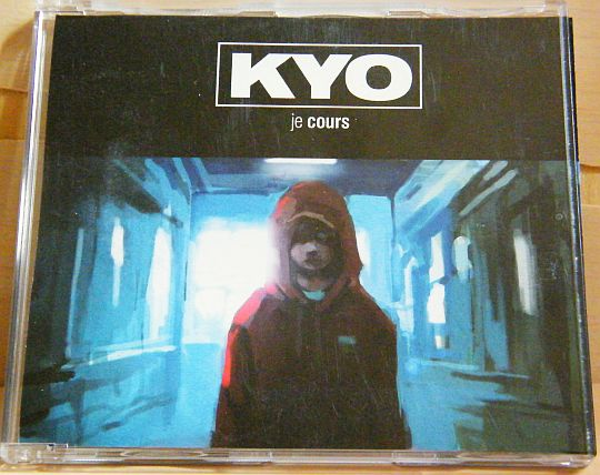 recto du CD promo monotitre Collector de Kyo - Je cours