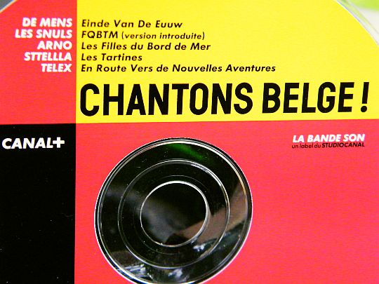 CD collector sampler Chantons belge interdit à la vente