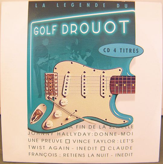 recto du CD promo Collector de la légende du Golf Drouot