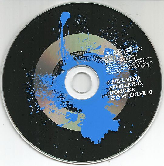 CD sampler collector interdit à la vente du Label Bleu - Appellation d'origine incontrôlée numéro 2