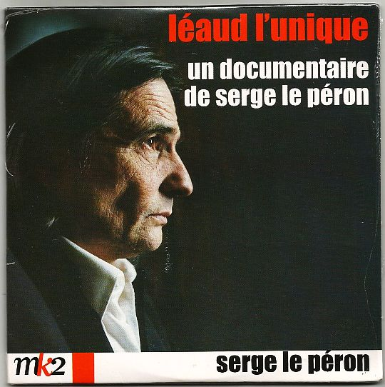 recto du DVD promotionnel de Serge le Péron - Léaud l'unique