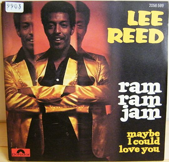 pochette recto du 45 tours Collector de Lee REED - Ram ram jam