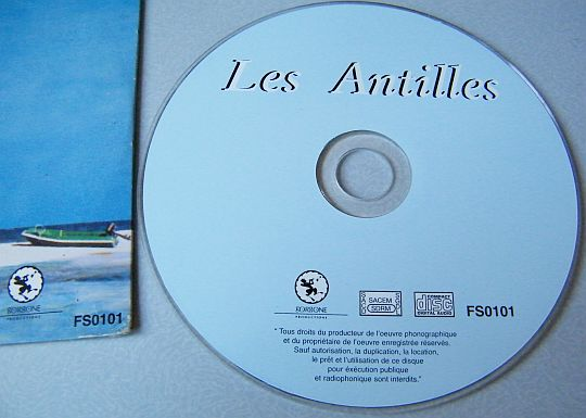 CD collector Les Antilles