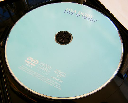 DVD promotionnel de Lisa Doby - live at wyb7