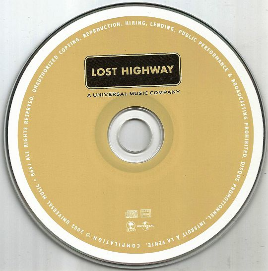 CD sampler promo Lost Highway 2002