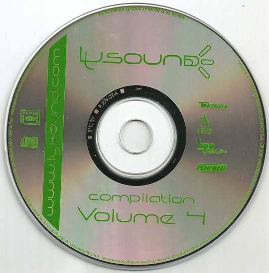 CD sampler Collector Lysound volume 4
