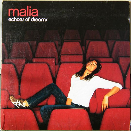 recto de l'epk promo de Malia - Echoes of dreams