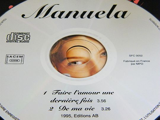 CD collector Manuela - Faire l'amour