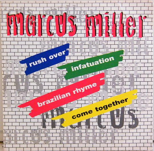marcus miller - rush over pochette recto