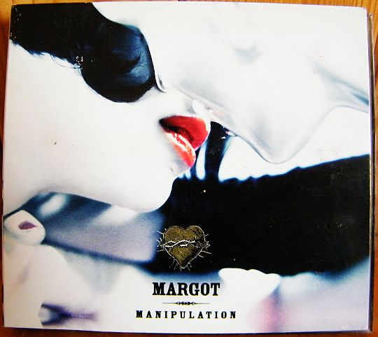 pochette recto du double CD collector de Margot - Manipulation dans POESIE-SONORE.COM