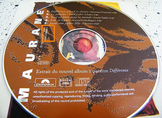 Maurane cd sampler
